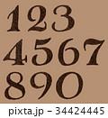 34424445