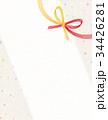水引 和紙 背景素材のイラスト 34426281