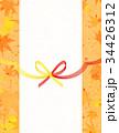 水引 和紙 背景素材のイラスト 34426312