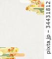 紅葉 背景 秋のイラスト 34431812