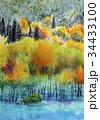 白神山地の秋景 秋のスケッチ 34433100