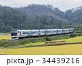 特急車両を使用した快速列車 34439216