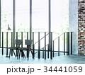 ヴィンテージ 椅子 インテリアのイラスト 34441059