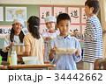 小学校 給食 昼休み 34442662