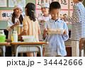 小学校 給食 昼休み 34442666