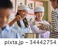 小学校 給食 昼休み 34442754
