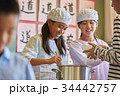 小学校 給食 昼休み 34442757