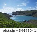 小笠原諸島 海 風景の写真 34443041