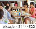 小学生 給食 昼休みの写真 34444522