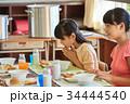 小学生 女子 給食の写真 34444540