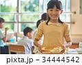 小学校 給食 昼休み 34444542