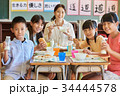 小学校 給食 昼休み 34444578