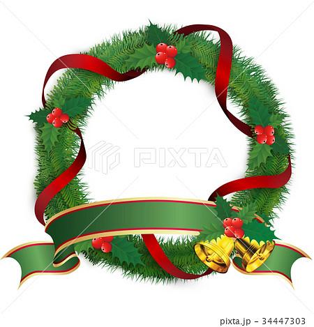 クリスマスリーフ 34447303