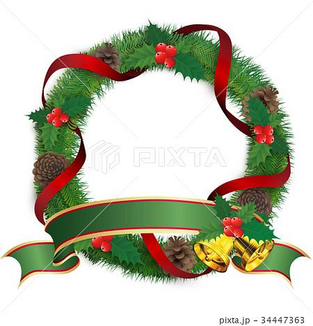 クリスマスリーフ 34447363