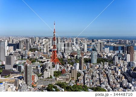東京の都市風景 日中 34448710