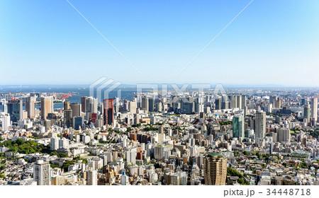 東京の都市風景 日中 34448718