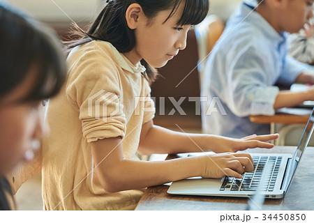 小学校 授業 パソコン 34450850