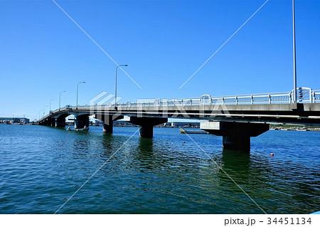 サロマ湖 常呂町栄浦大橋 34451134