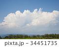 青い空白い雲 34451735