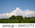 青い空白い雲 34451773
