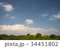 雲 空 青空の写真 34451802