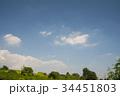 青い空白い雲 34451803
