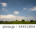 青い空白い雲 34451804