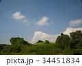 青い空白い雲 34451834