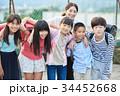 小学生 クラスメイト 仲間の写真 34452668