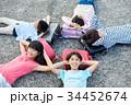人物 小学生 放課後の写真 34452674