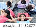 小学生 放課後 ランドセルの写真 34452677