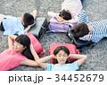 人物 小学生 放課後の写真 34452679