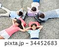 人物 小学生 放課後の写真 34452683