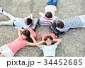 小学生 放課後 ランドセルの写真 34452685