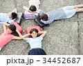 小学生 放課後 ランドセルの写真 34452687