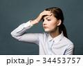 頭痛の女性 34453757
