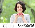 自動車 ミニカー 女性の写真 34456036