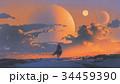 描画 絵画 絵画制作のイラスト 34459390