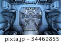 宇宙船 cg sfのイラスト 34469855