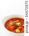 ミネストローネ スープ 食べ物の写真 34472875
