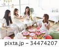 お祝いパーティの準備 34474207