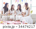 女性 パーティ 女子会の写真 34474217