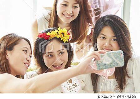 ベビーシャワーの記念撮影 34474268