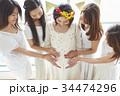 女性 パーティ ベビーシャワーの写真 34474296