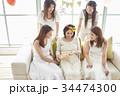 女性 パーティ ベビーシャワーの写真 34474300