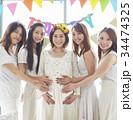 女性 パーティ ベビーシャワーの写真 34474325