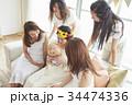 女性 ホームパーティ ベビーシャワーの写真 34474336