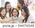 女性 ベビーシャワー お祝いの写真 34474348