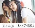 女性 ホームパーティ パーティの写真 34474351