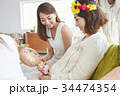 女性 ホームパーティ ベビーシャワーの写真 34474354